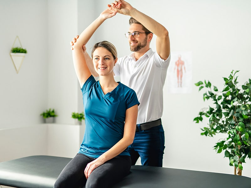 Athletes Go for Physiotherapy